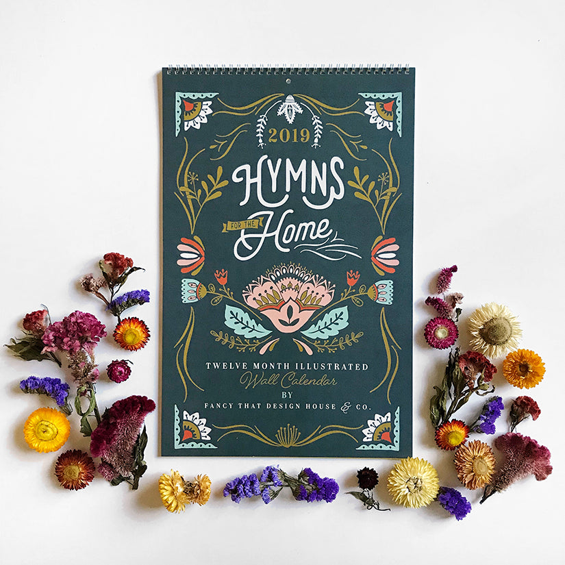 2019 Hymns for the Home Wall Calendar