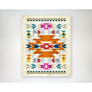 Bright, Navajo Inspired Pattern 8x10 art print