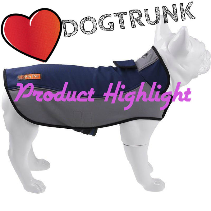 Product Highlight - Top Selling Blue Dog Waterproof Coat