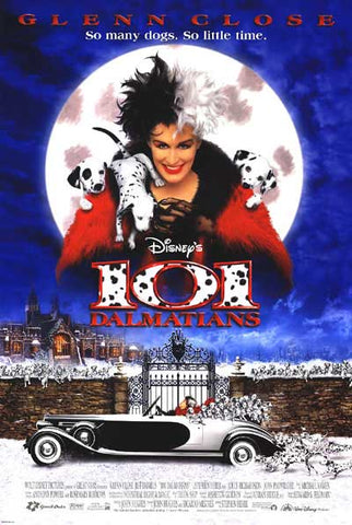 101 Dalmatians top 10 dog movies