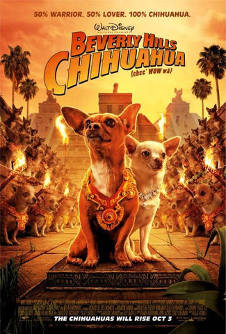Beverly Hills Chihuahua top 10 dog movies