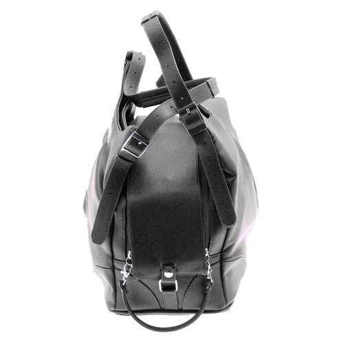 Sadie Mia Michele Black Dog Carry Bag Carrier - DogTrunk