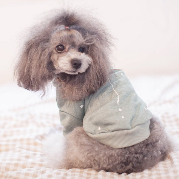 Casual Hooded fleece dog top Sweaters - DogTrunk