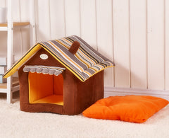 Dog Bed House Sofa Large Cute Pet Bed Warm Soft Pet Kennel Cat Dogs House Sleeping Bag Personalized Dog Nest House Beds