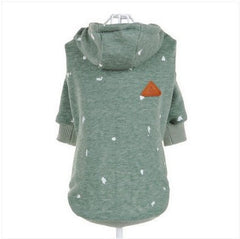 Casual Hooded fleece dog top