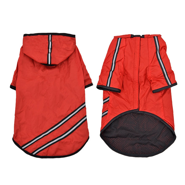 Sporty Nylon Dog Raincoat  - DogTrunk