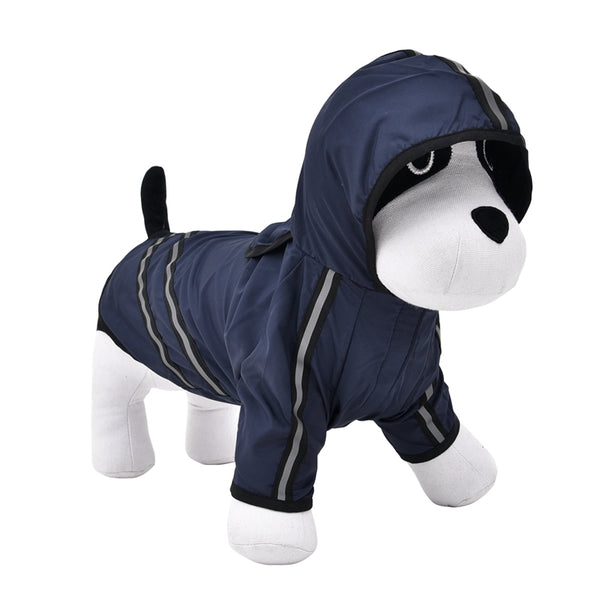 Hot Sale Dog Clothes Dog Raincoat Pet Clothing Apparel Pet Clothes Reflective Puppy Waterproof Coat Dog Jacket Dog T-Shirt  - DogTrunk