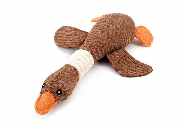 Adorable duck dog chew toy 3pack Plush Toys - DogTrunk