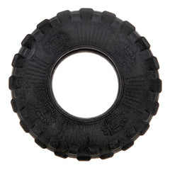 Mighty wheel dog toy training rubber tire