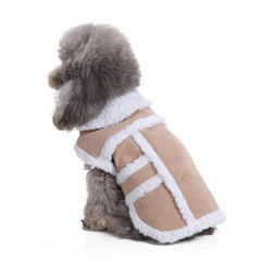 Sheepskin Rancher Dog Jacket
