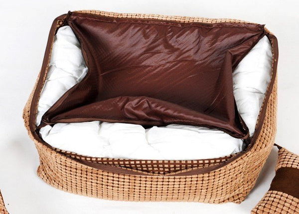 Puppy pet dog bed warming dog house soft materialfa bric sofa warm winter for dog pet products give a pillow Beds - DogTrunk