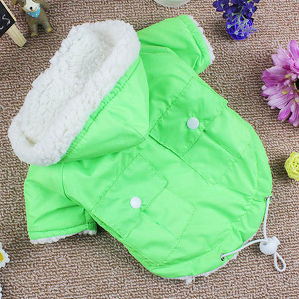 Winter Dog Clothes for Small Dogs Warm Pet Coats Jacket Dog Clothing French Bulldog Chihuahua Pet Clothes 10dy30 Coats - DogTrunk