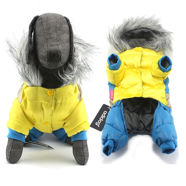 Cozy Canine Winter Dog Down Jacket (Sizes S-6XL) Coats - DogTrunk