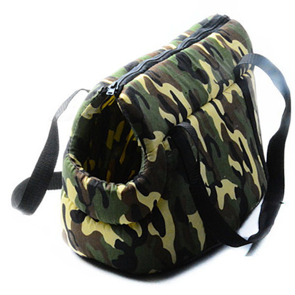 Portable outdoor carrier Army Camouflage print slings pet bag dog carrier Puppy travel carrier bag for dogs cat bags S L Travel & Auto - DogTrunk