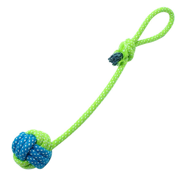 Cotton Dog Rope ball Toys in multiple designs Rope Toys - DogTrunk
