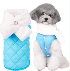 Furry Fur Winter Doggy Vest