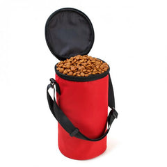 Collapsible Travel Outdoor Dog Food Container Waterproof Bag