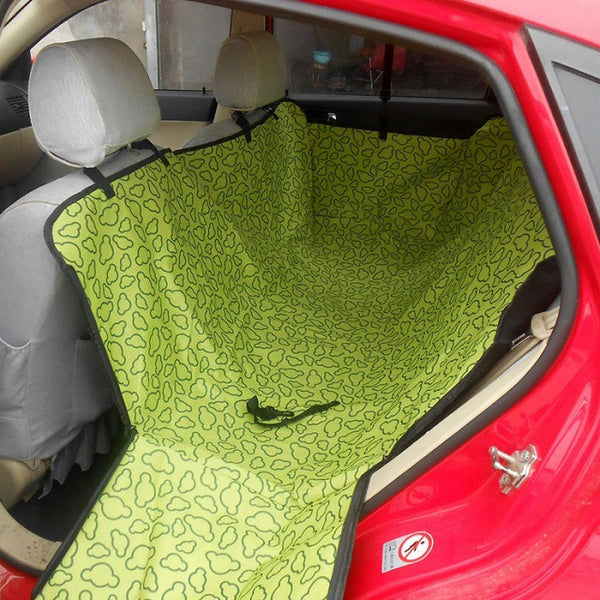 600D Oxford Pet Car Seat Covers Waterproof Back Bench Seat Car Interior Travel Accessories Car Seat Covers Mat for Pet Dogs Travel & Auto - DogTrunk
