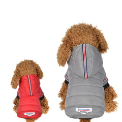 Sporty Down Winter Dog Jacket
