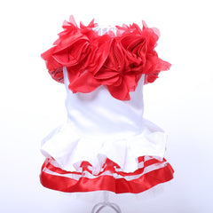 Ruffled Party Dress for Dogs