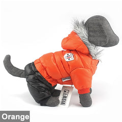 Super Warm Waterproof Winter Dog Jacket