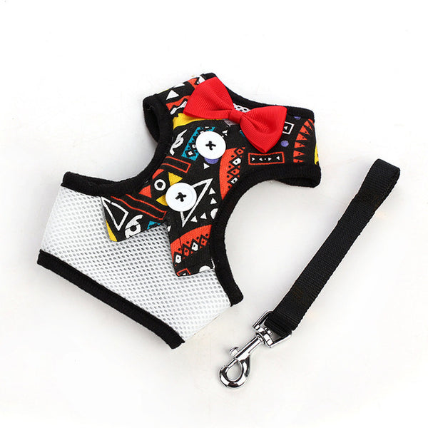 Dog Vest Harness and Leash Set Leashes - DogTrunk