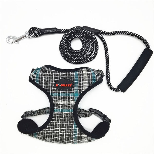 Native Fabric Dog Harness Harness - DogTrunk