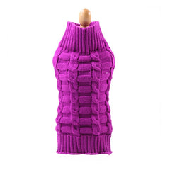 Kayla's Knit Turtleneck Dog Sweater in 8 Colors