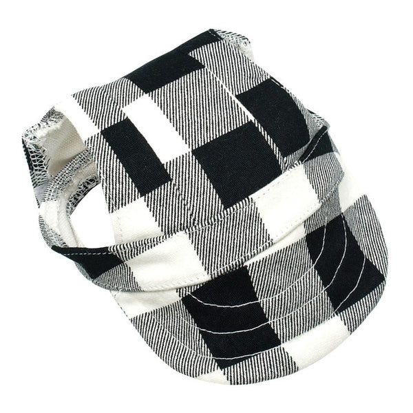 Trucker-Style Buffalo Plaid or Camo Dog Hat  - DogTrunk