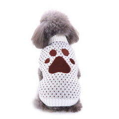 Pawprint Winter Sweater