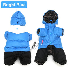 Doggy Snow Suit Ski Jacket