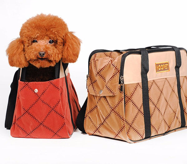 Soft Side Petite Doggie Travel Carrier Carrier - DogTrunk