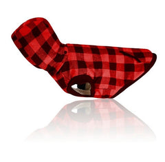 Lumberjack Flannel Dog Vest