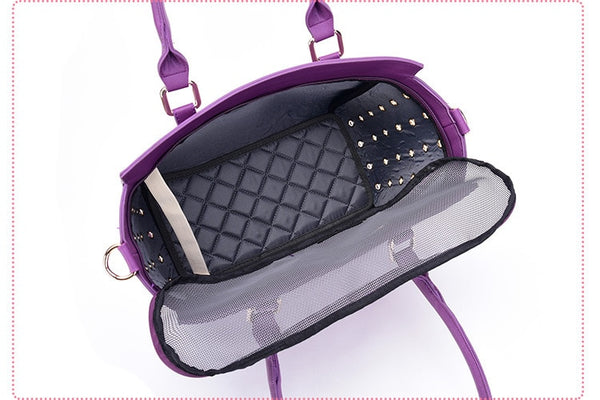 Royal Luxury Dog Carrier Handbag Carrier - DogTrunk