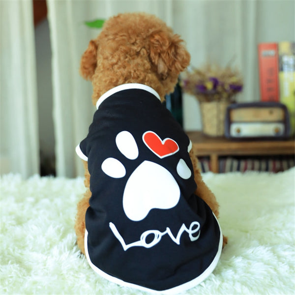 Pawsitively Love T-Shirt for Dogs Shirt - DogTrunk