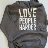 Thug Yoga Love People Harder Hooded Sweatshirt