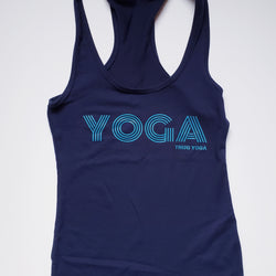 YOGA Fitted Racerback Tank Top