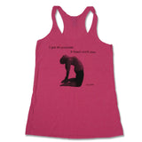 I got 99 problems, and Camel ain't one Women's Racerback Tank Top, Pink