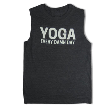 Yoga Every Day Charcoal Heather