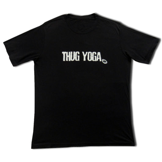 Thug Yoga Men's Short Sleeve T Shirt, Black