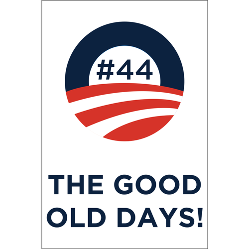 #44 THE GOOD OLD DAYS Poster