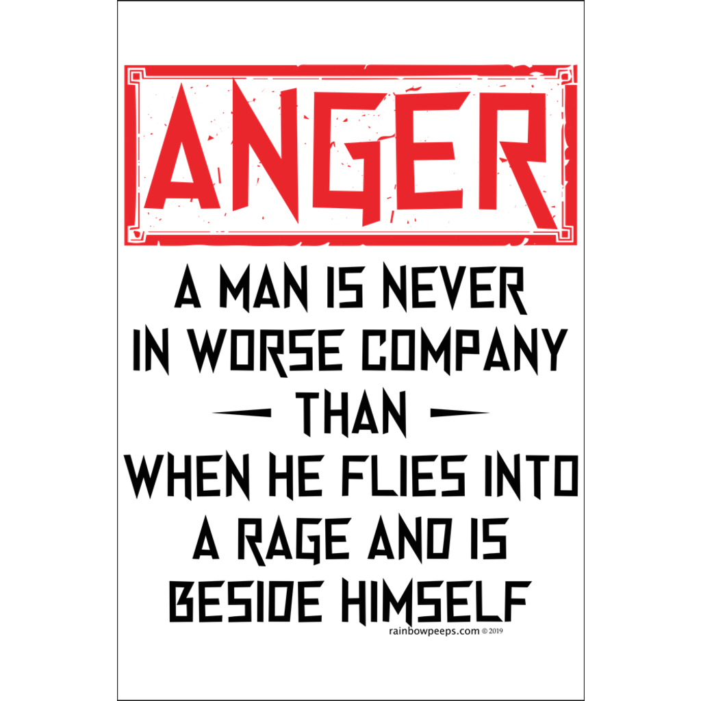 ANGRY MAN DEFINED Poster