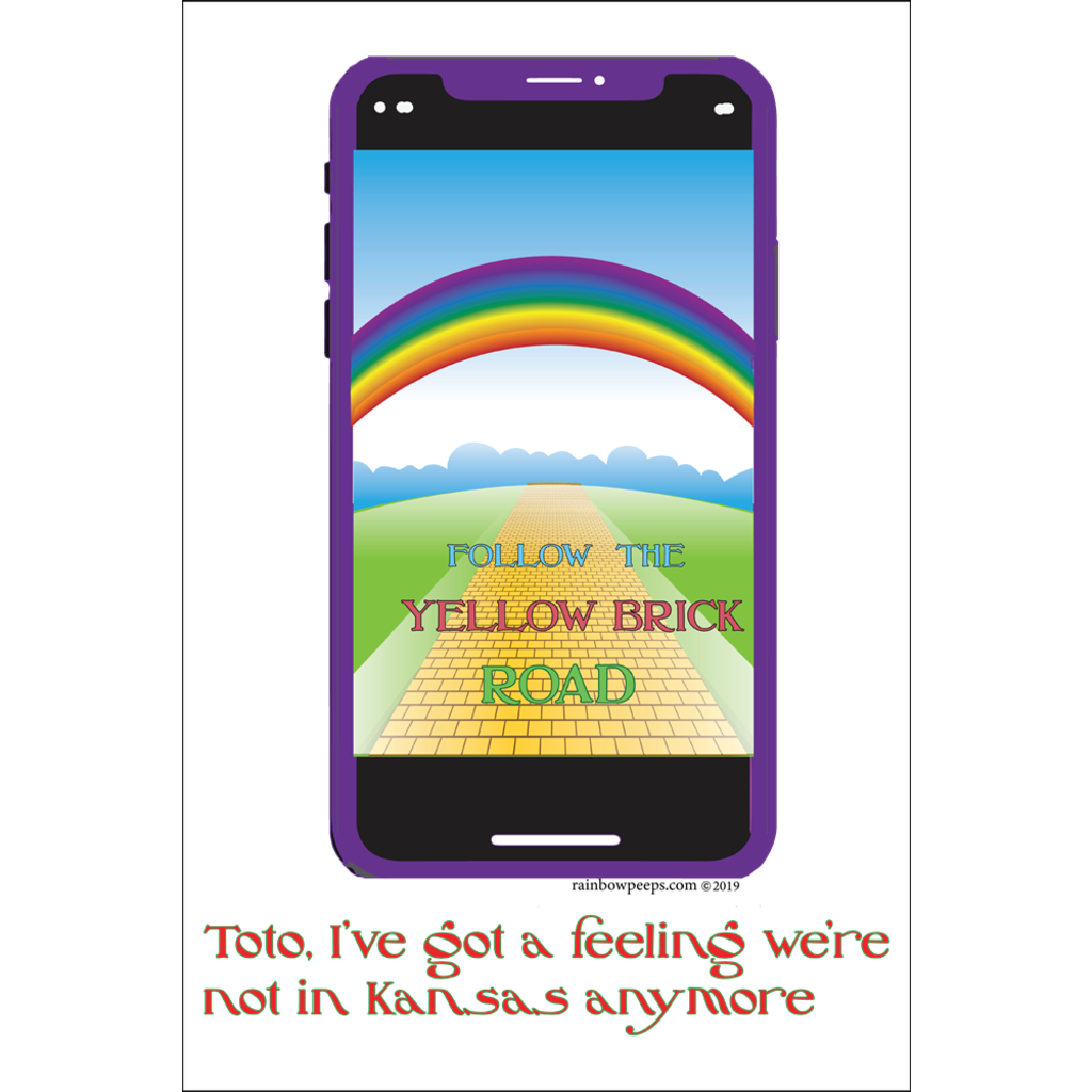FOLLOW THE YELLOW BRICK ROAD Poster