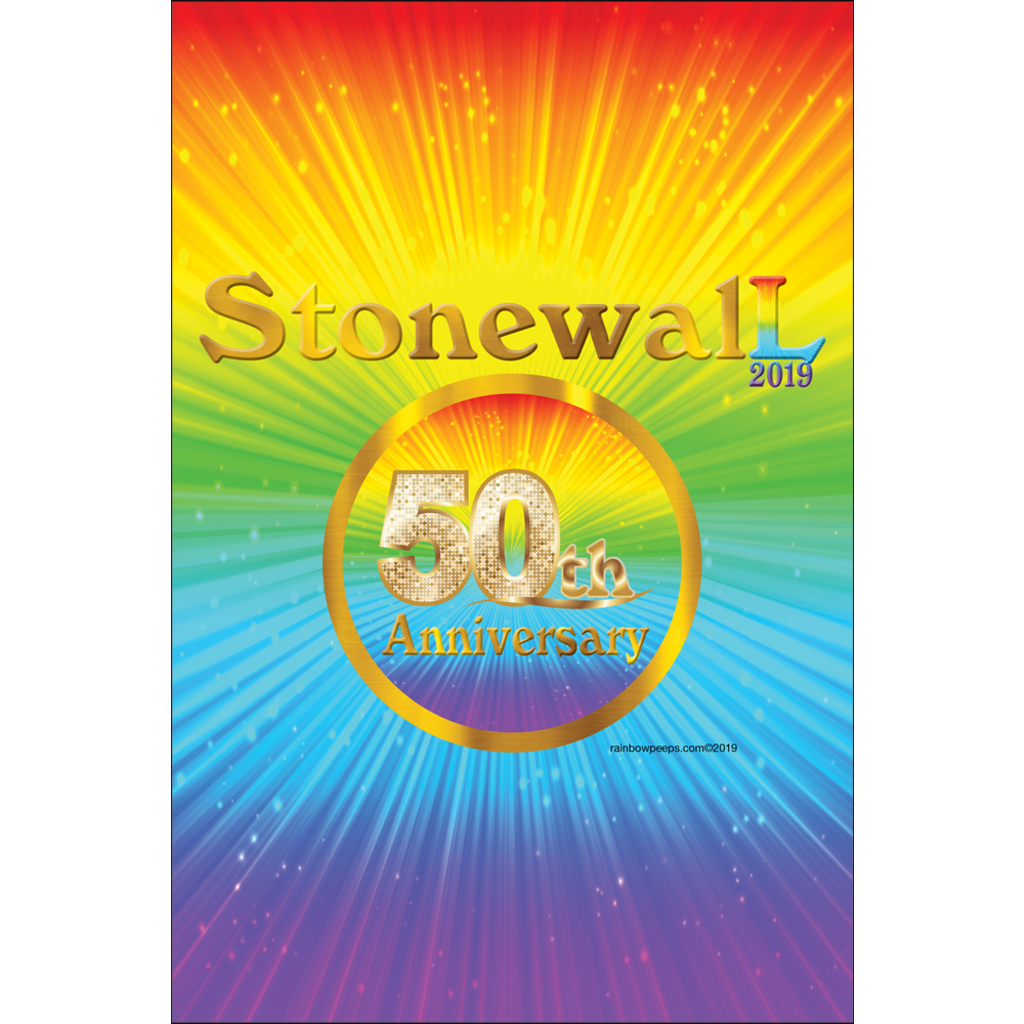 STONEWALL 50th ANNIVERSARY Exclusive Original Design Poster