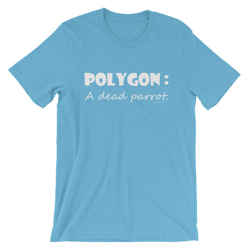 POLYGON: 'A Dead Parrot' Short-Sleeve Unisex T-Shirt