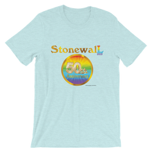 STONEWALL 50TH ANNIVERSARY Short-Sleeve Light Color Unisex T-Shirt