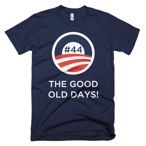 #44 THE GOOD OLD DAYS White Letters Unisex T shirt