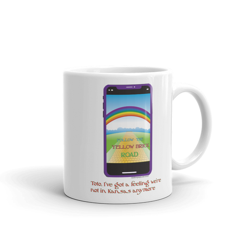 FOLLOW THE YELLOW BRICK ROAD Mug
