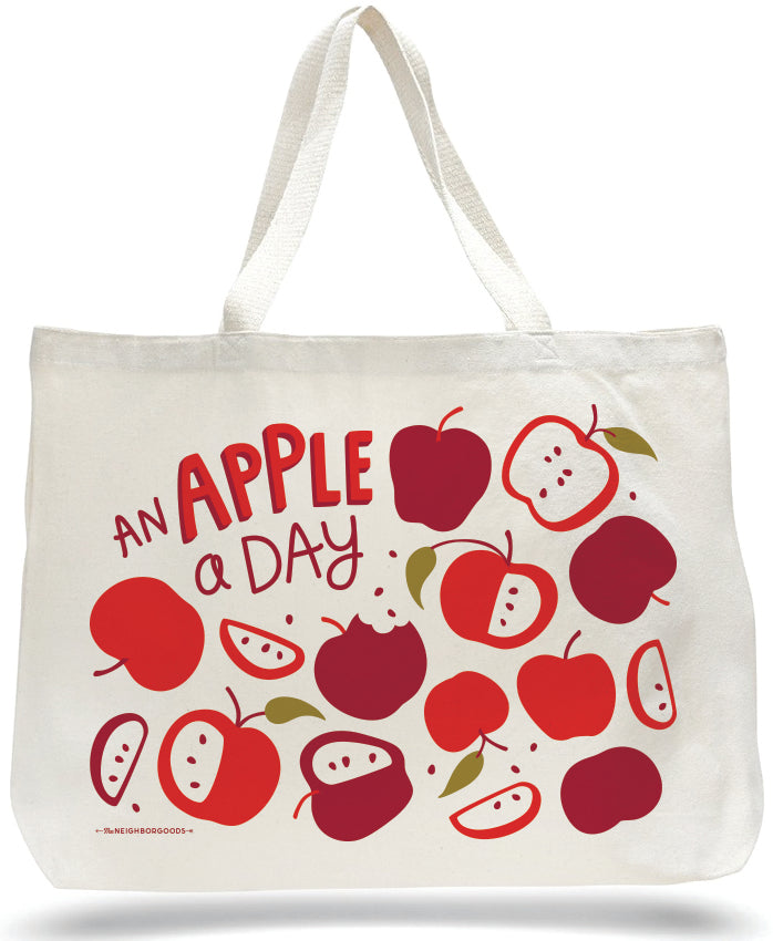 Apple a Day Tote Bag