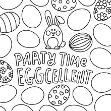 FREE! EGGcellent Egg Coloring Page